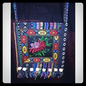 ❤️2/$20 Handmade sachet purse boho Spanish style